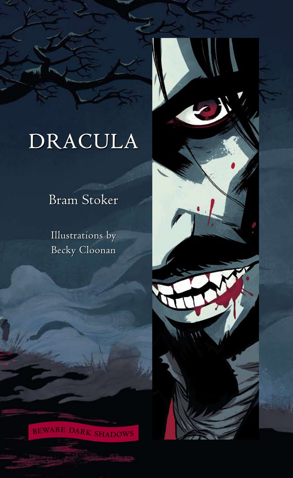 Becky Cloonan's Dracula on sale April 10th from Harper ...