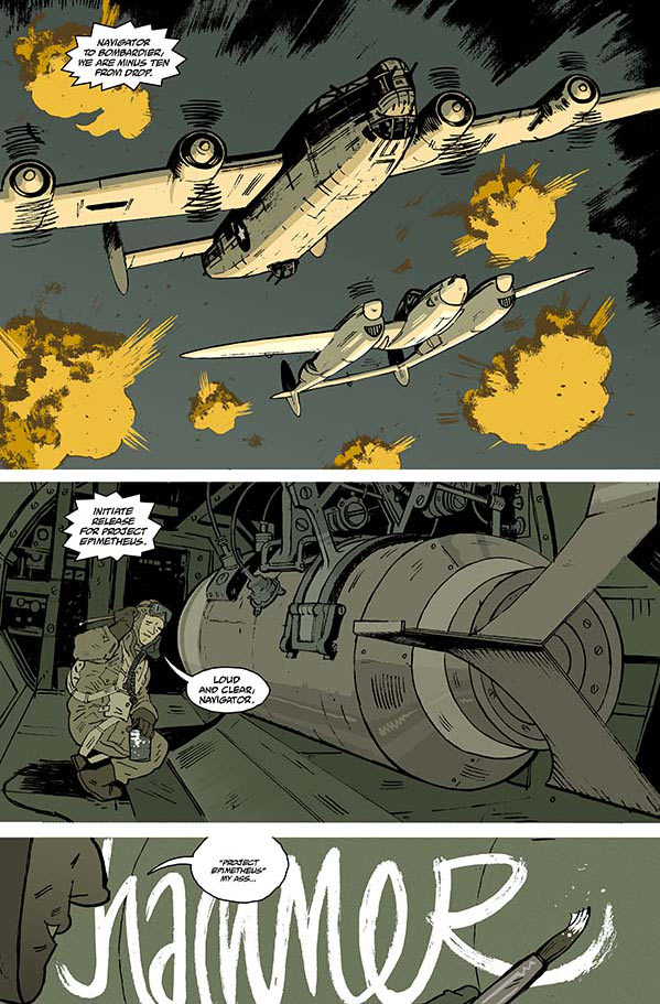 Sledgehammer 44-2 *Preview pages curtesy of www.comicbookresources.com
