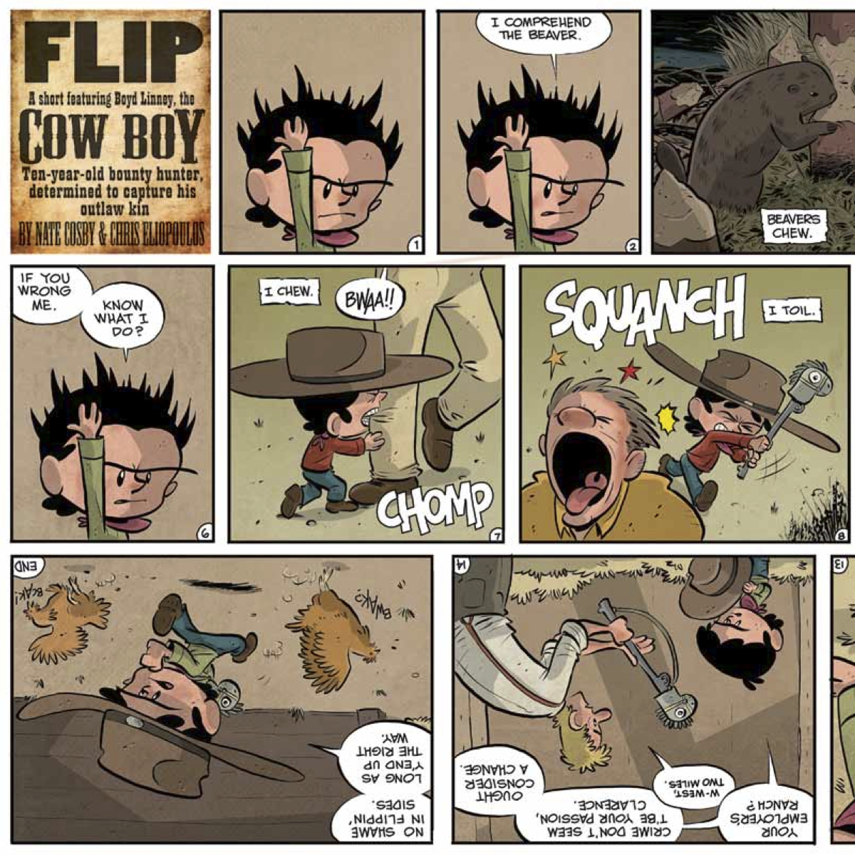 Free Comic Book Day 2013: Archaia's Mouse Guard/Rust Flip Book Is Perfect For