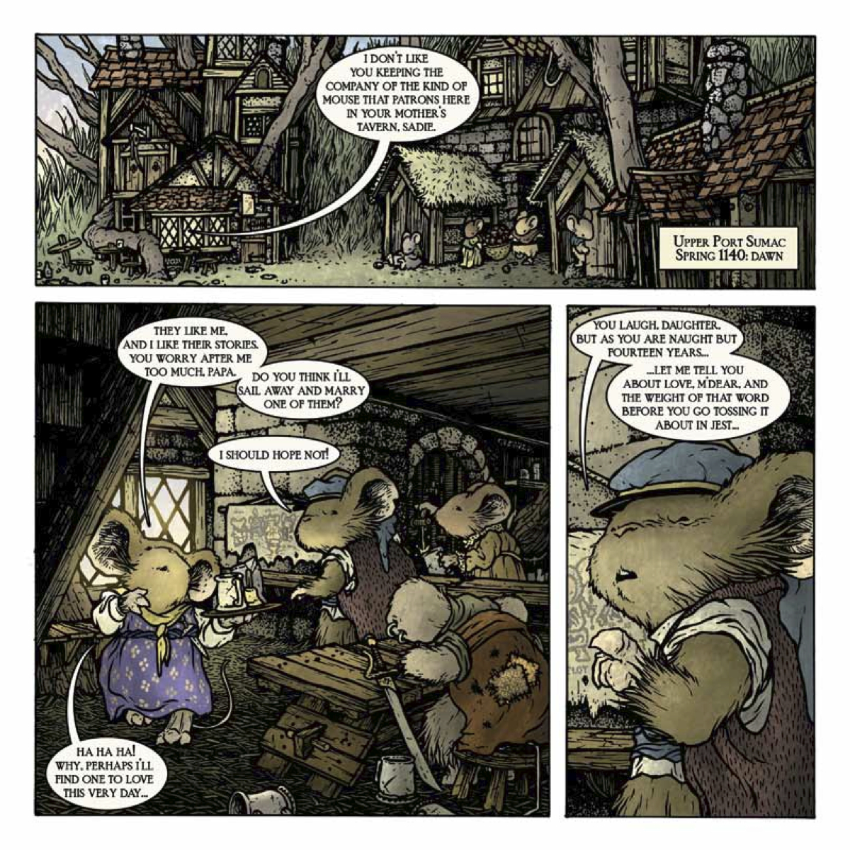 FCBD 2013-Mouse Guard Preview