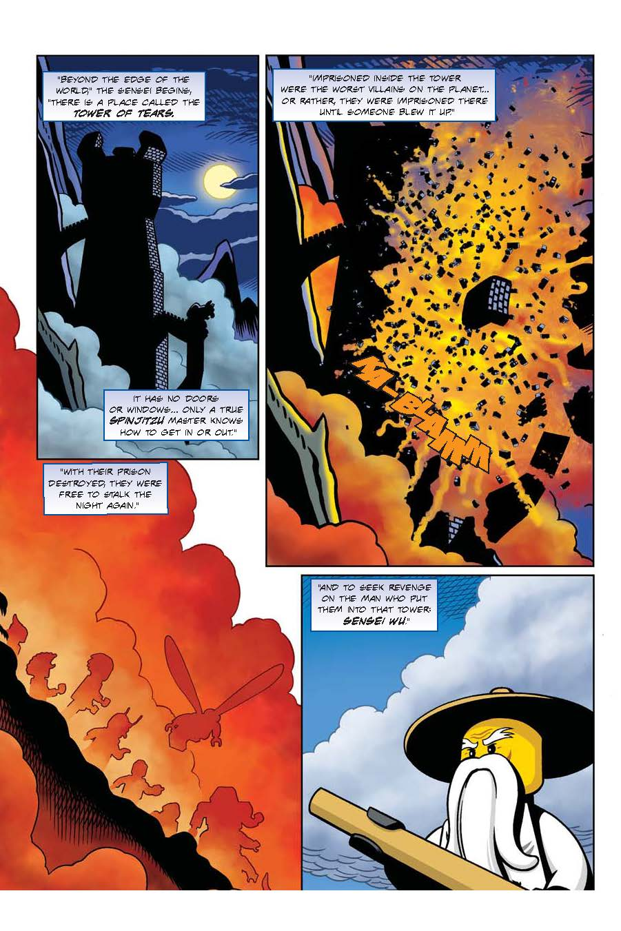 Ninjago S Quot Stone Cold Quot Graphic Novel Is On Bookshelves