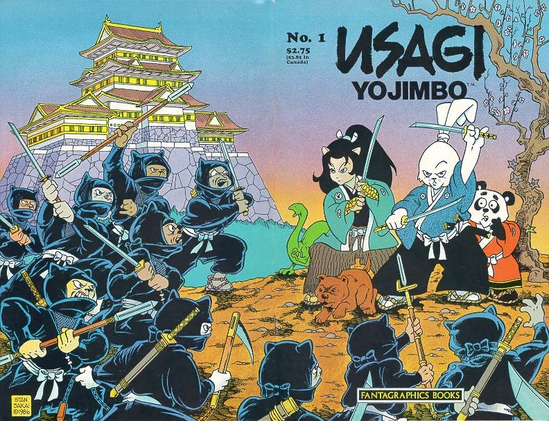 Plastic Paper Realm Usagi Yojimbo Great Comic No Toys What