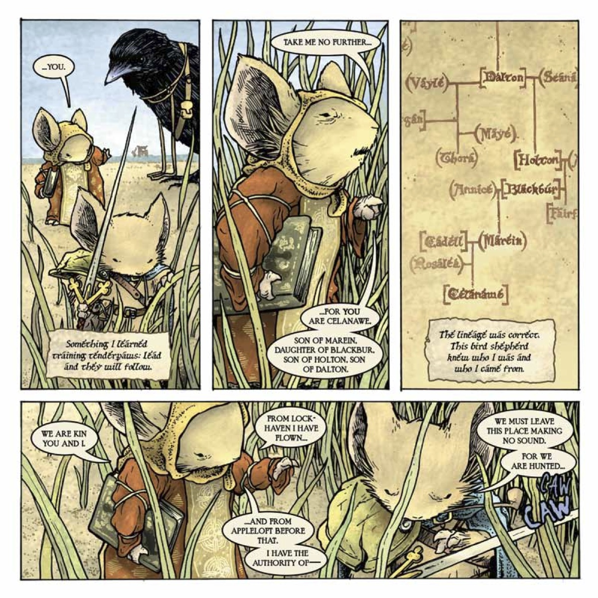 Mouse Guard Vol. 3: The Black Axe' July 10th! Check Out