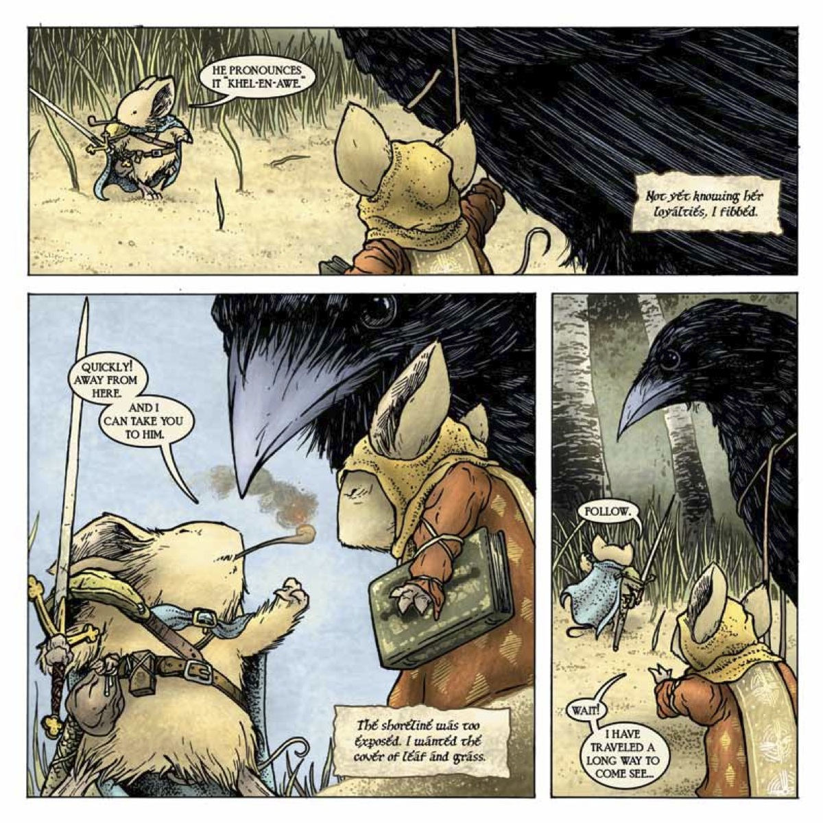 Free Comic Book Day 2013: Mouse Guard Vol. 3: The Black Axe' July 10th! Check Out