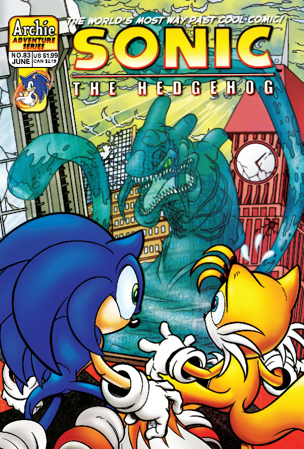 Previews Archie Double Digest Sonic Archives On The