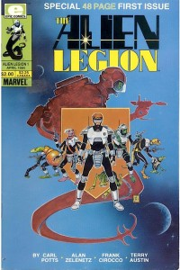 Alien Legion Comic