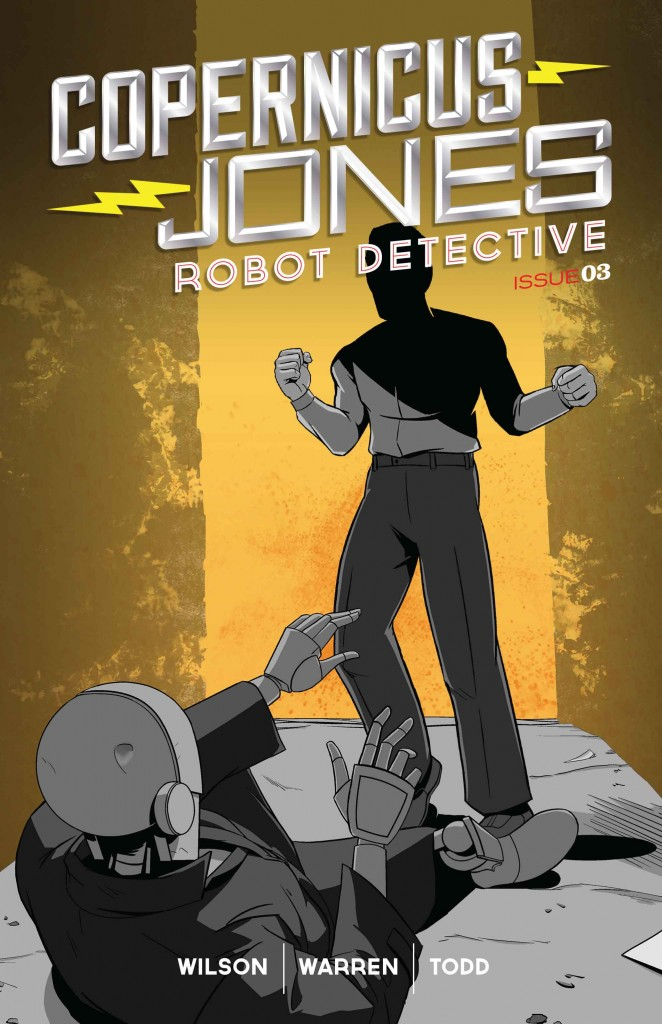 Preview Copernicus Jones: Robot Detective #3 Monkeybrain Release 4-16!