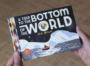 A Trip to The Bottom of The World - with Mouse - A Toon-Book by Frank Viva