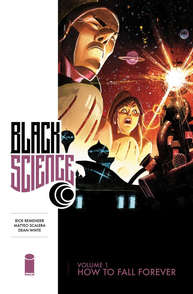 Image collects Remender and Scalera's Black Science in trade paperback!