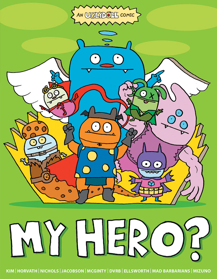 NEW UGLYDOLL: MY HERO? On Sale Now!