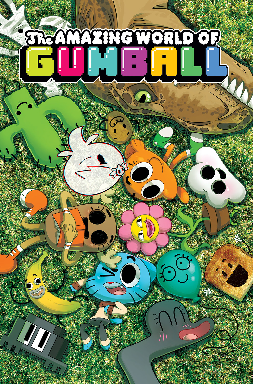 The amazing world of gumball clare
