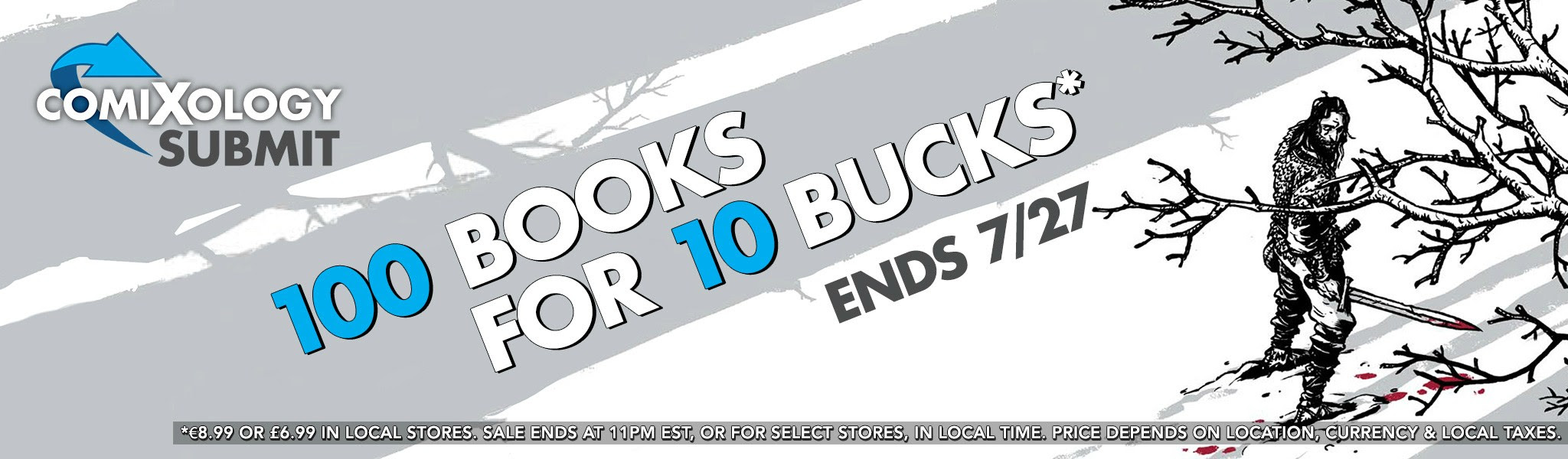 ComiXology Celebrates 5 Years with a Bundle of 100 Books for Ten Bucks!