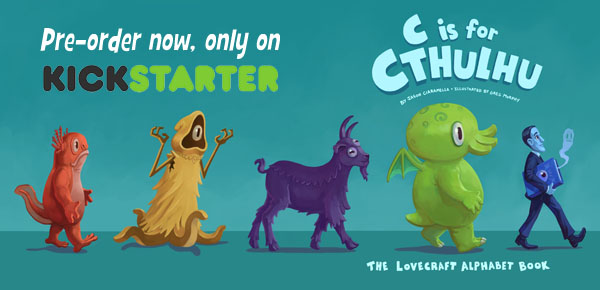 C is for Cthulhu - That's Good Enough for Me.