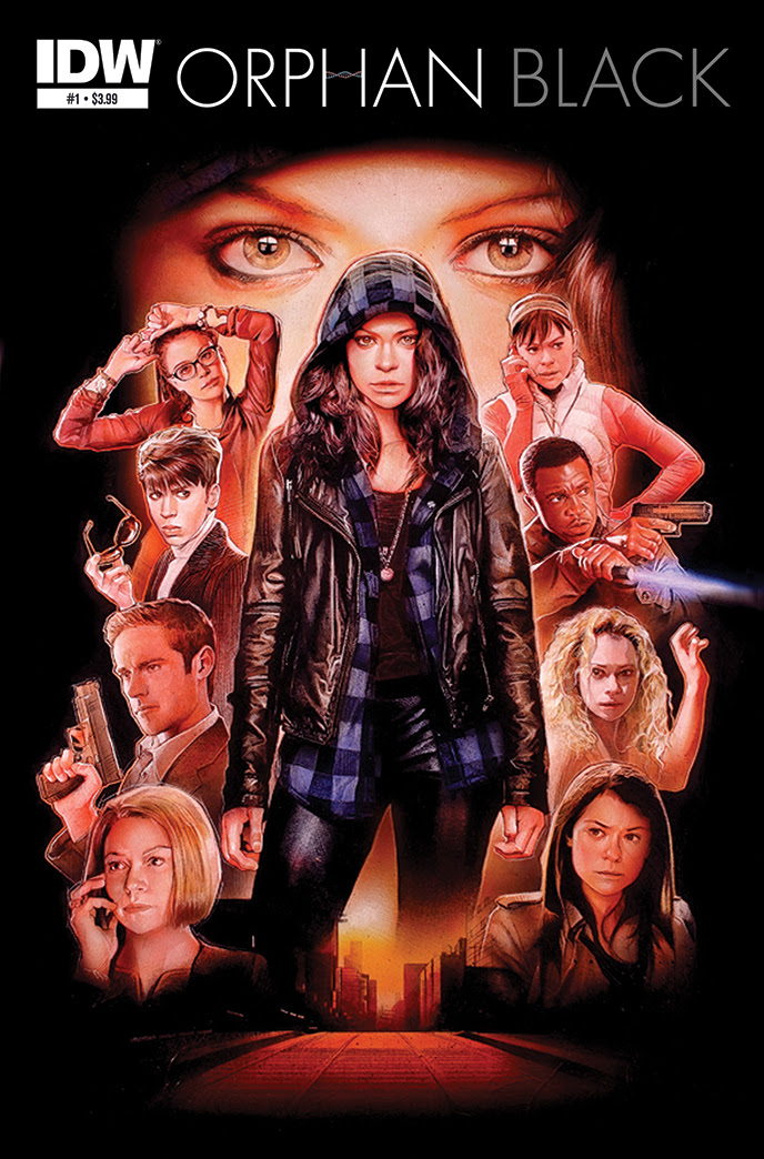 The Clones of Orphan Black Spin Into a Comic Series From IDW!