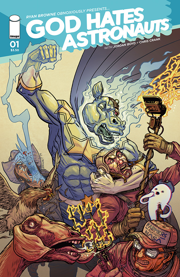 Preview/Review - God Hates Astronauts #1!