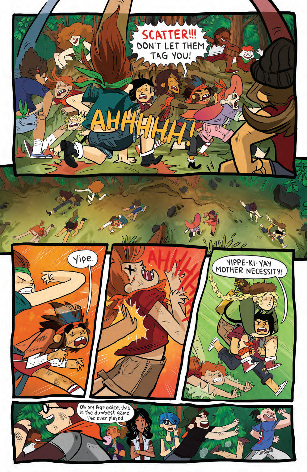 Preview - Lumberjanes #6 - Capture the Flag Gets a Bit Out ...