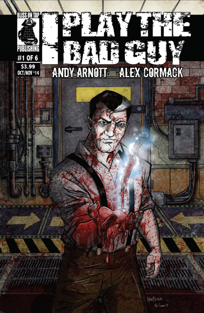 Review - I Play The Bad Guy #1 - Visceral Superhero Action & Suspence
