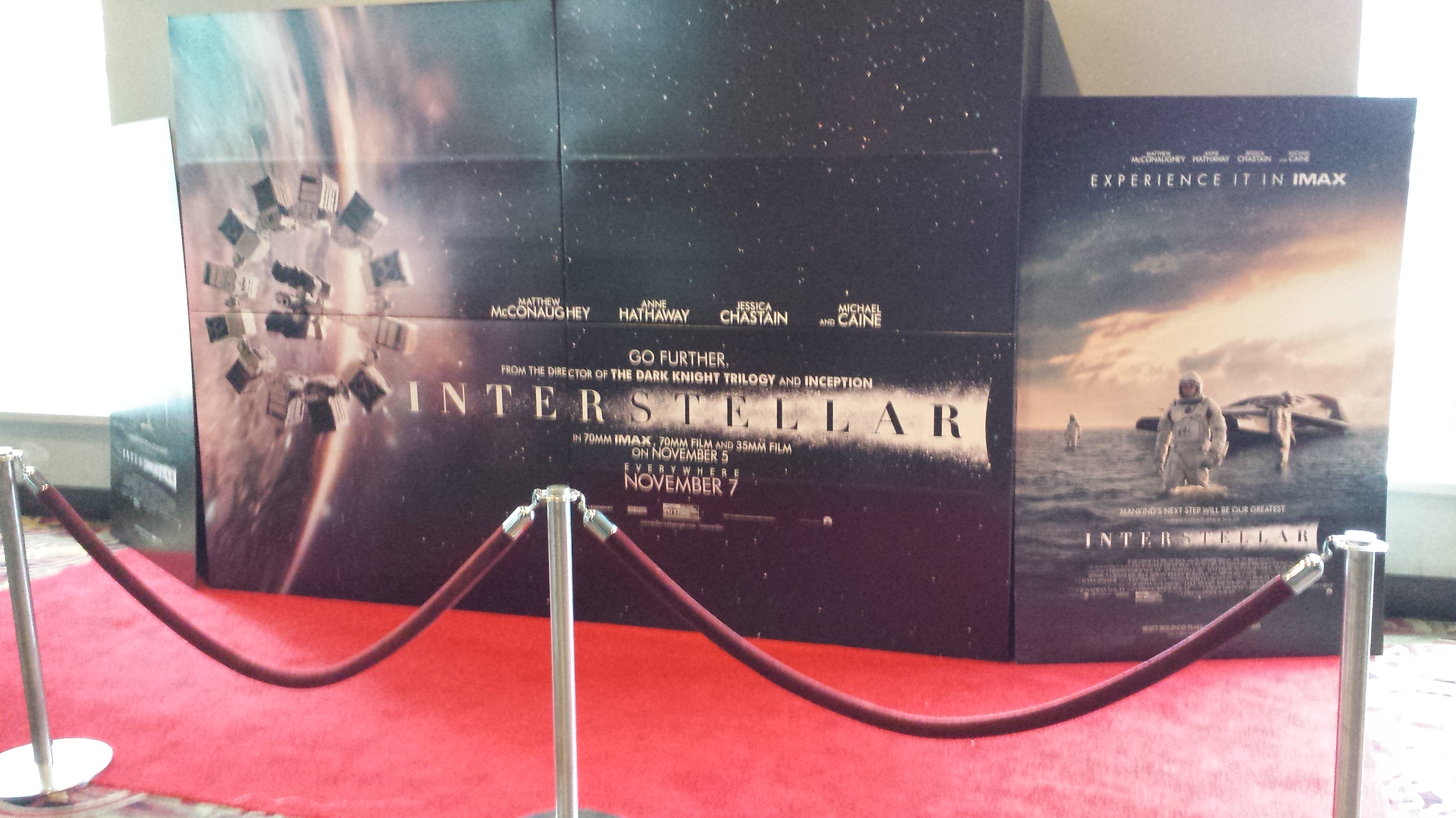 """""""Interstellar"""" 70mm IMAX ADVANCE Review! ~ What'cha Reading?"""