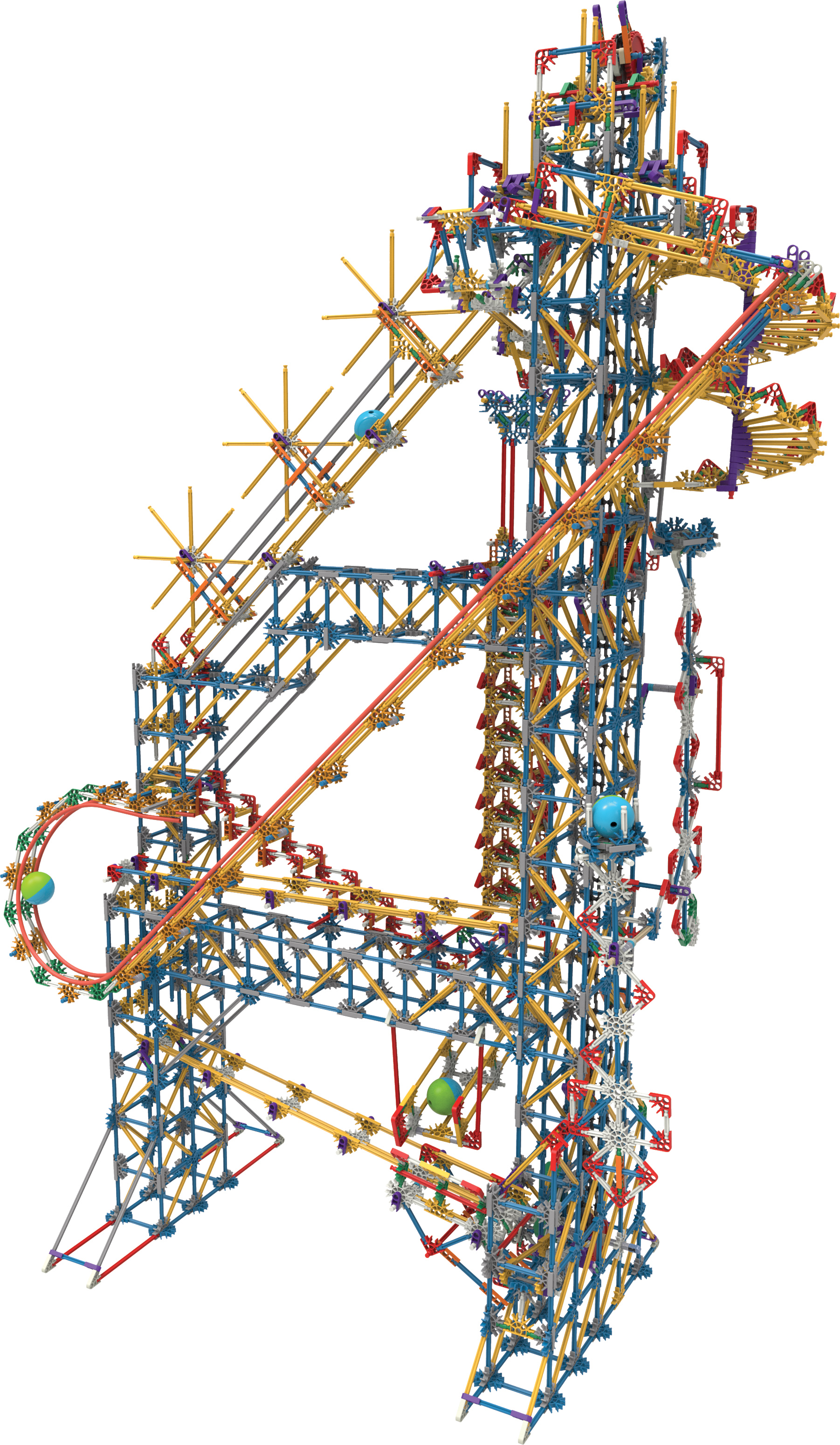 Machine Ball Factory Toy : Toy fair ny k nex building worlds kids love what