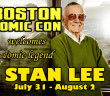 Boston Comic Con Welcomes Stan Lee!