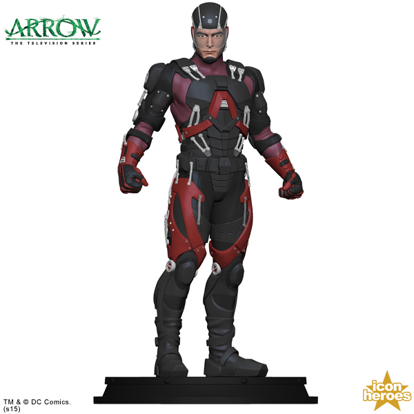 Icon heroes announces the atom statue paperweight what cha reading