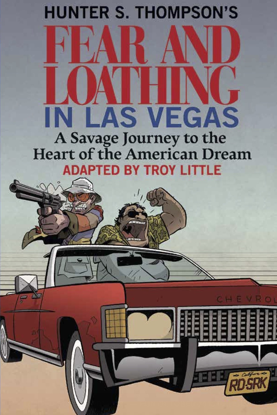 an analysis of the mythic journey in the fear and loathing in las vegas a novel by hunter s thompson Fear and loathing in las vegas: a savage journey into the heart of the american dream is hunter s thompson's notoriously unconventional gonzo novel, which blurs the narrative line between fiction and non-fiction.