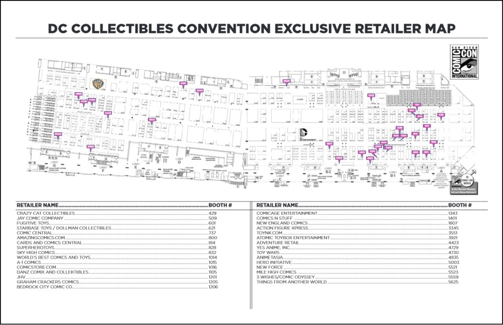 SDCC DC Collectibles Treasure Map! ~ What'cha Reading? Sdcc Map on halloween map, otakon map, pax map, thundercats map, transformers map, convention map, sandman map, the dark knight map, tron map, thanksgiving map, tmnt map, black widow map, avengers map, spiderman map,
