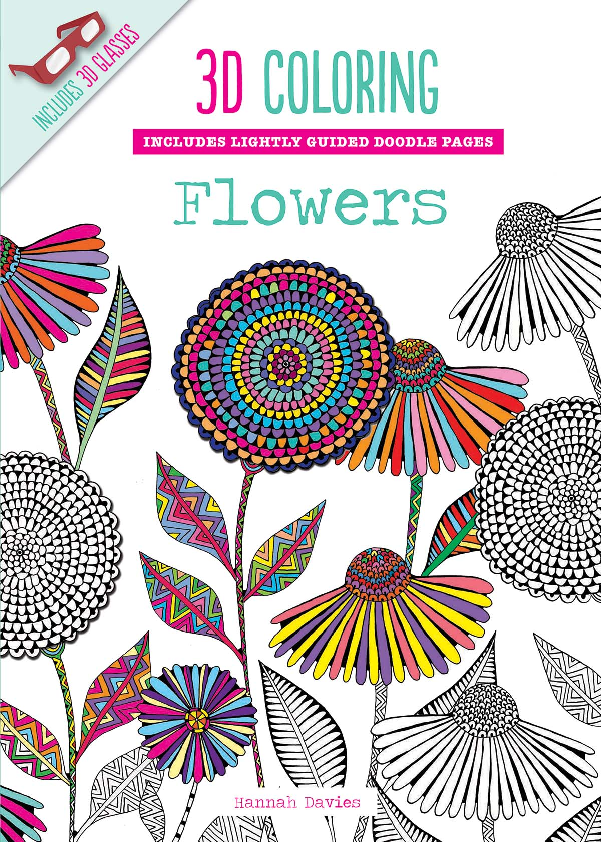 Coloring Books for Adults Go 3D ~ What\'cha Reading?
