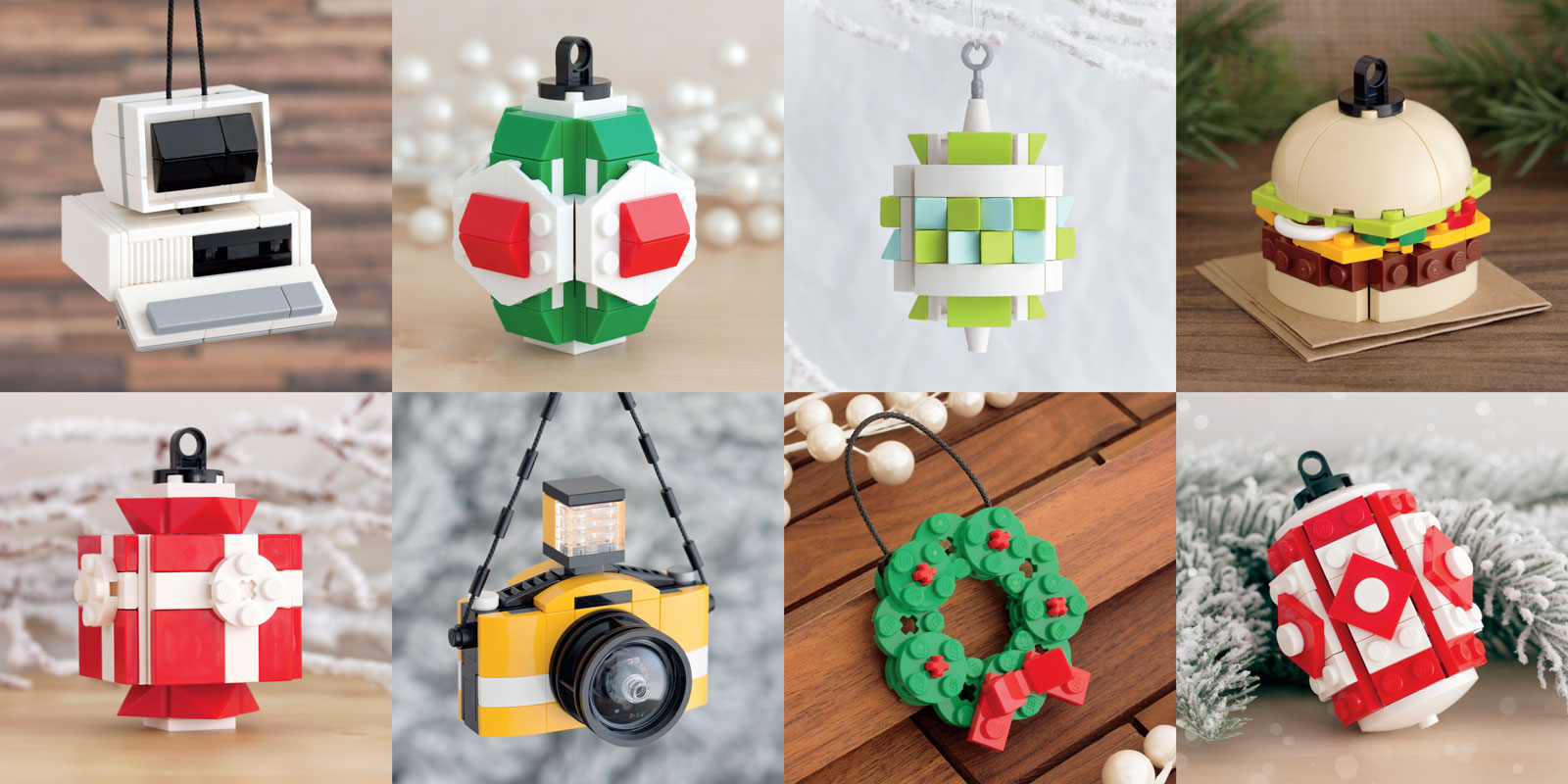 Lego Christmas Ornaments.Ready For Christmas How About A Lego Christmas What Cha