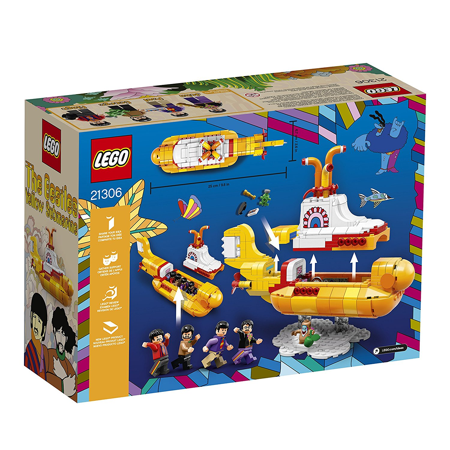We All Live In A Lego Submarine A Yellow Submarine Whatcha