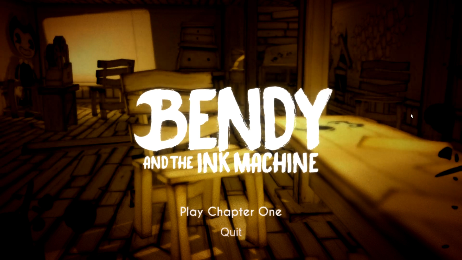 Bendy and the Ink Machine - Scaredy-Boter Reviews ...