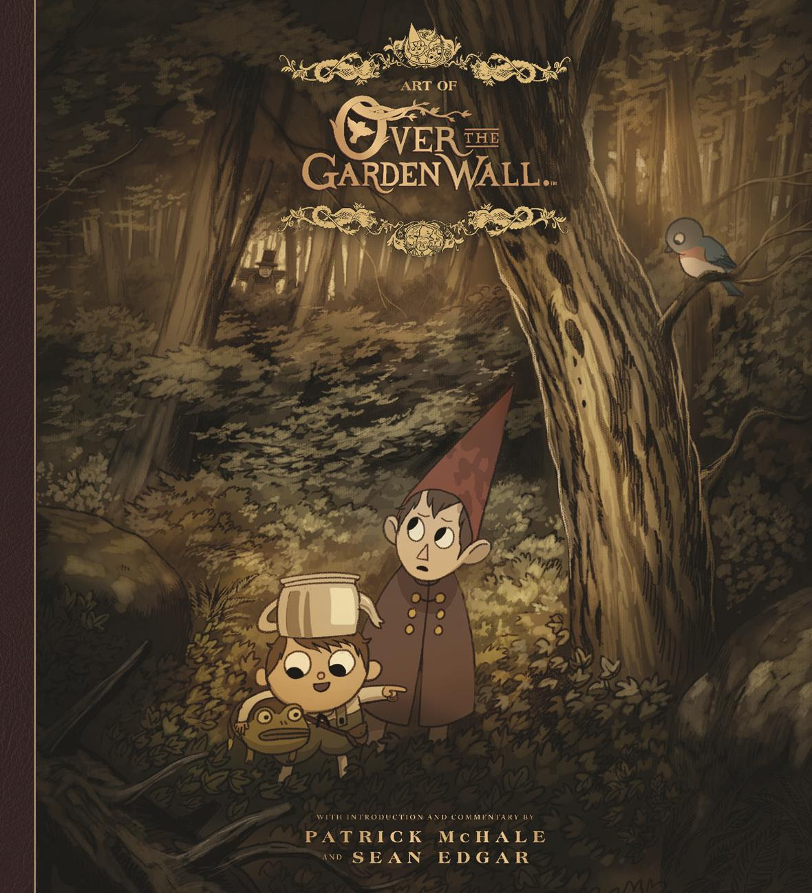 Over The Garden Wall And Venture Bros Art Books What 39 Cha Reading