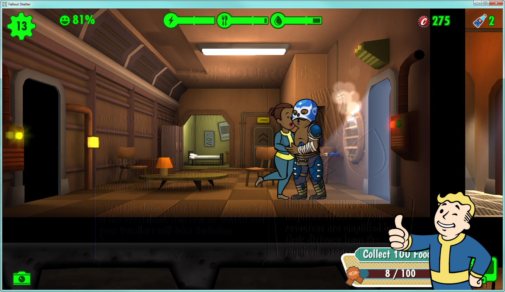How To Get More Food In Fallout Shelter