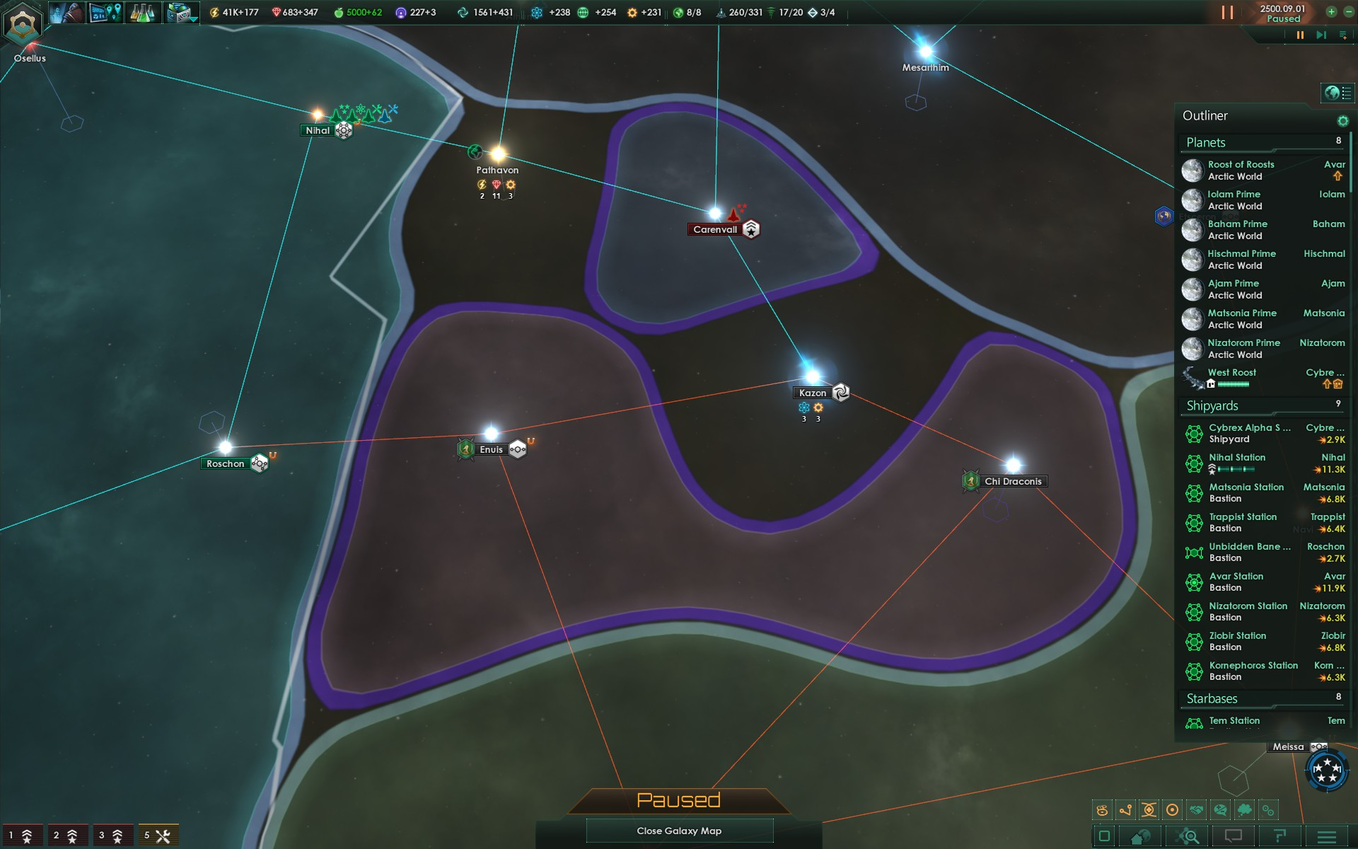Stellaris: The Ongoing War with the Unbidden ~ What'cha Reading?