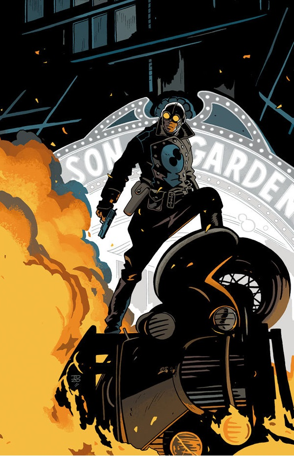 Preview - Lobster Johnson - Get The Lobster #1! ~ What'cha Reading?