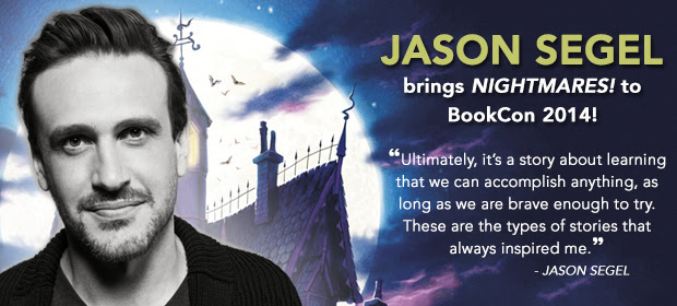 Jason Segel Brings Nightmares to BookCon ~ What'cha Reading?