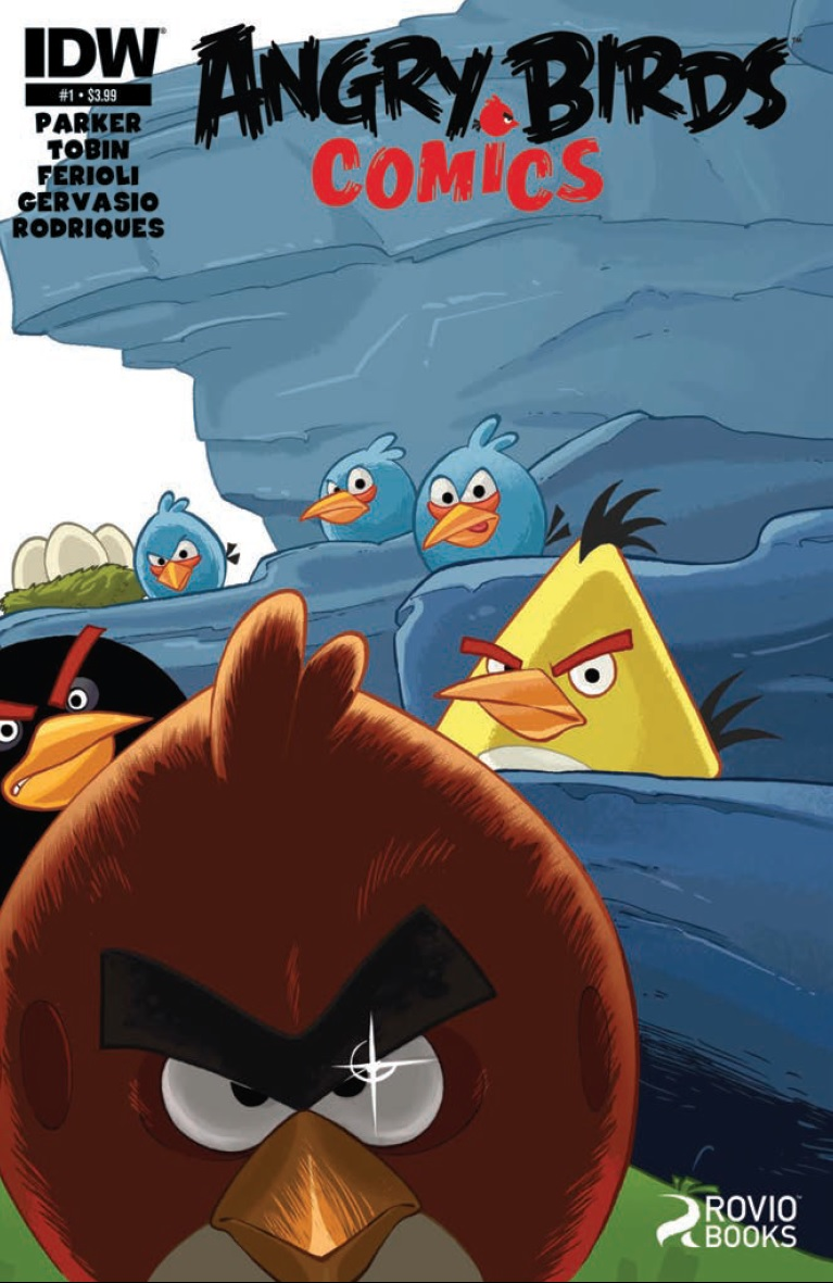 Preview Angry Birds Comics 1 Cute And Explody What