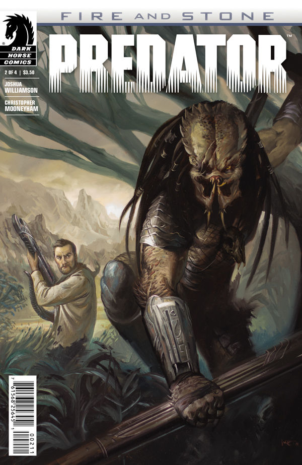 Review - Predator: Fire and Stone #2 - Buddy-Action Sci-Fi? ~ What'cha Reading?