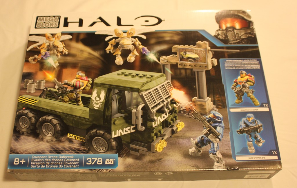 Mega Bloks HALO Covenant Drone Outbreak Set Toy Review ...