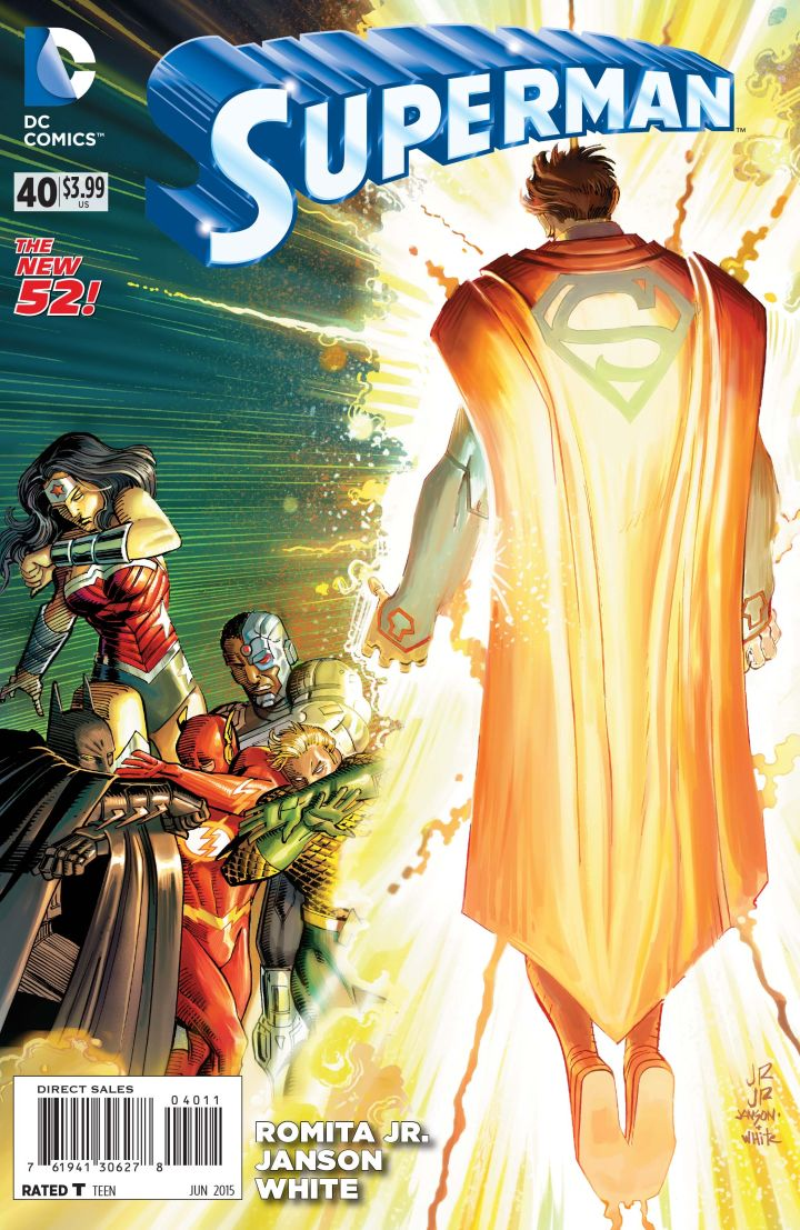 Superman 40 Review What Cha Reading
