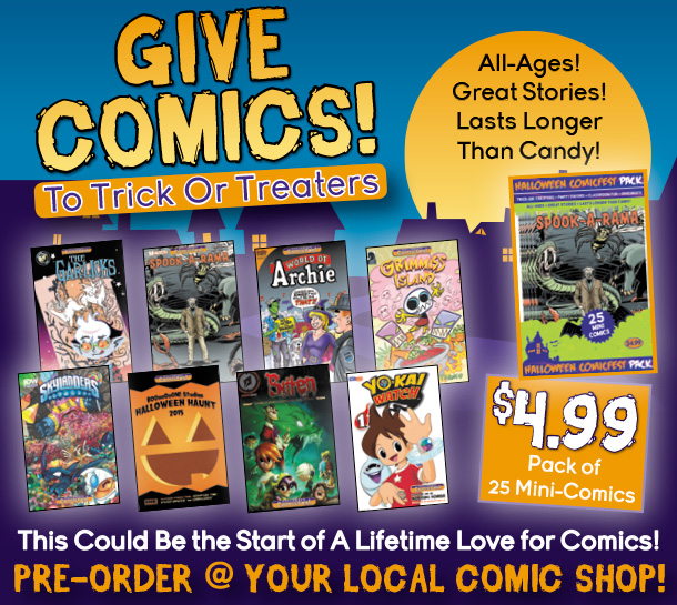 comics for halloween with halloween comicfest mini comic packs