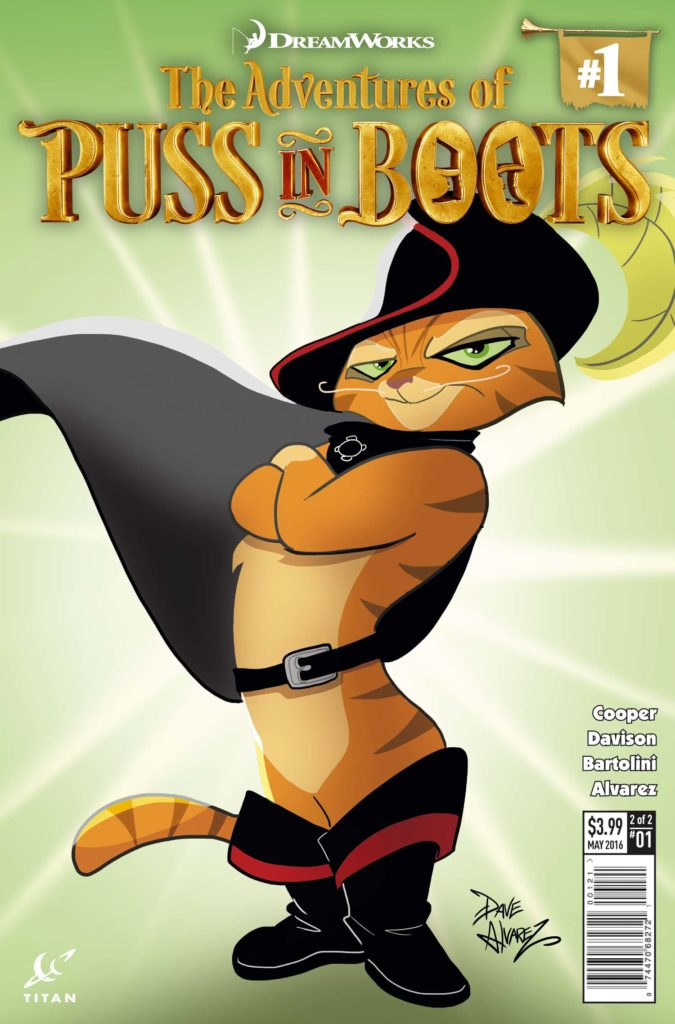 Puss In Boots 1 The Continuing Adventures Of A Legend