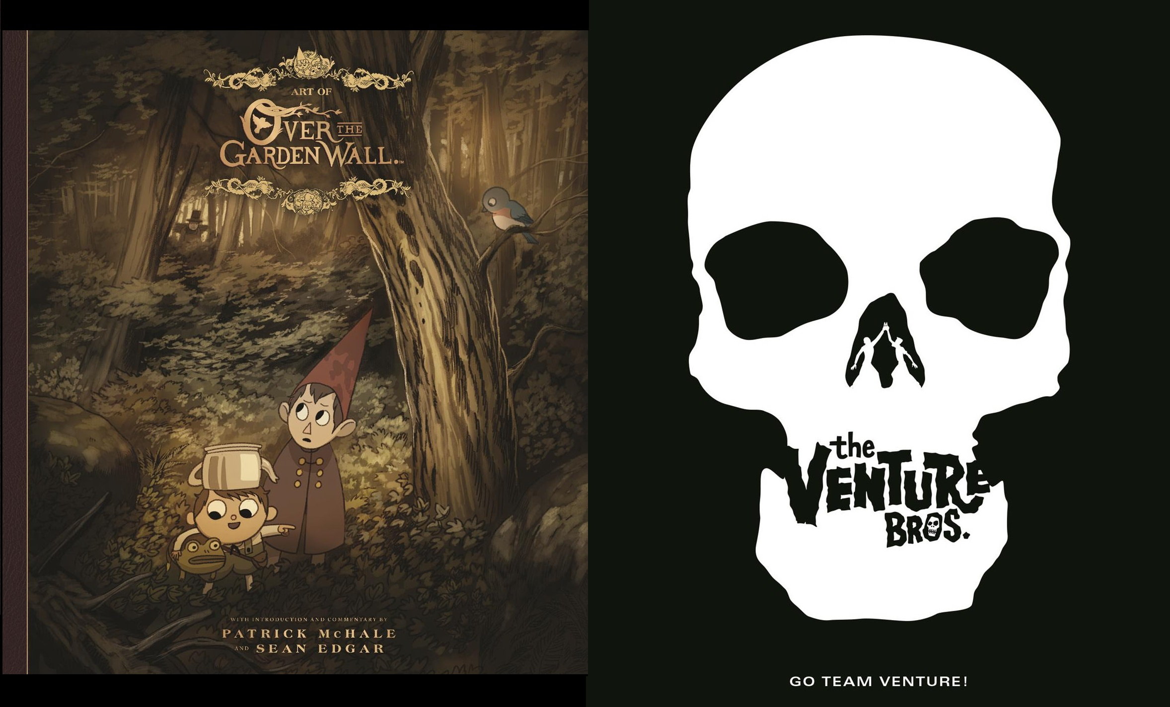 Over The Garden Wall And Venture Bros Art Books What Cha Reading