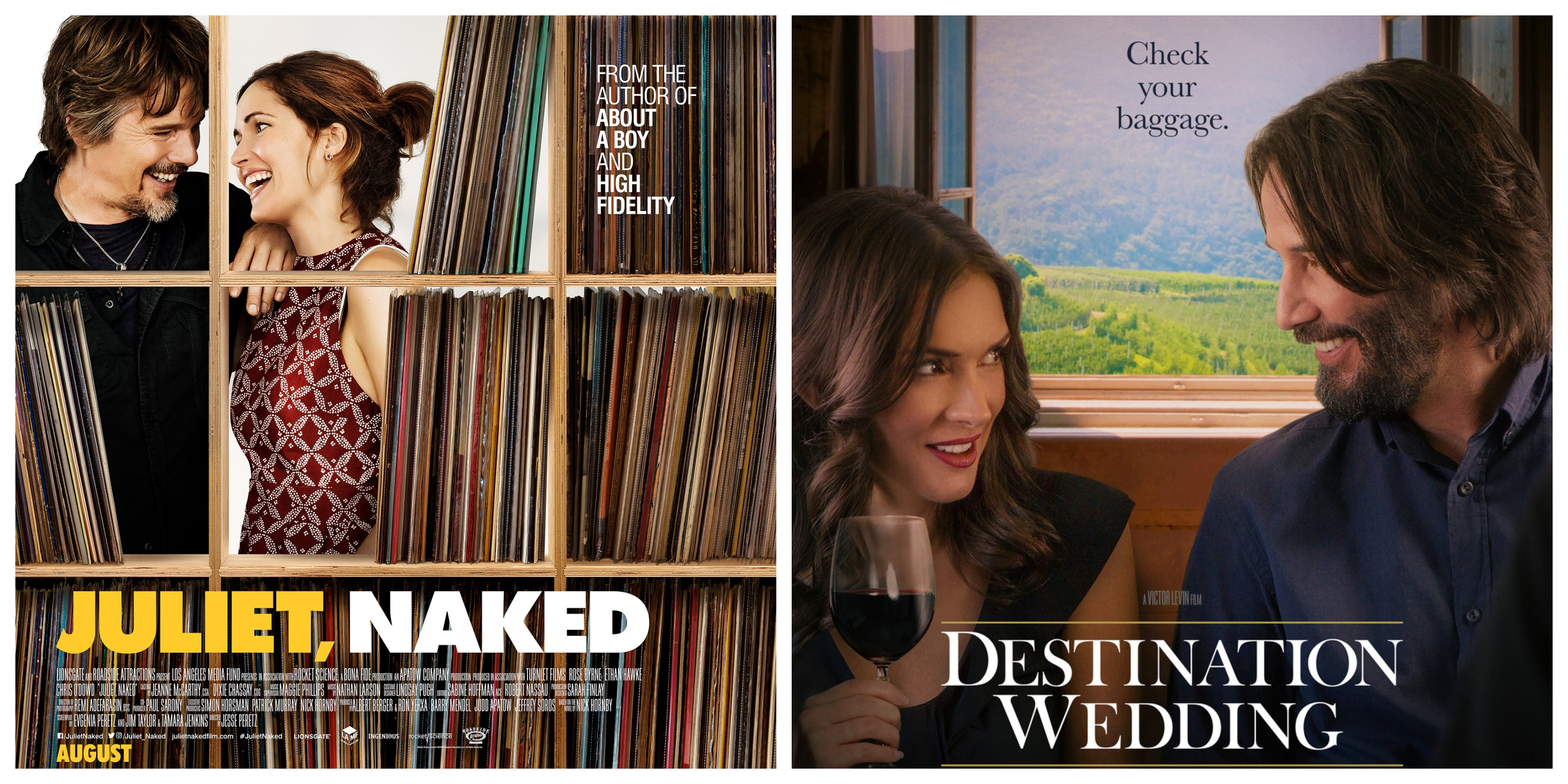 Destination Wedding Review.Love The Hard Way Juliet Naked And Destination Wedding What Cha